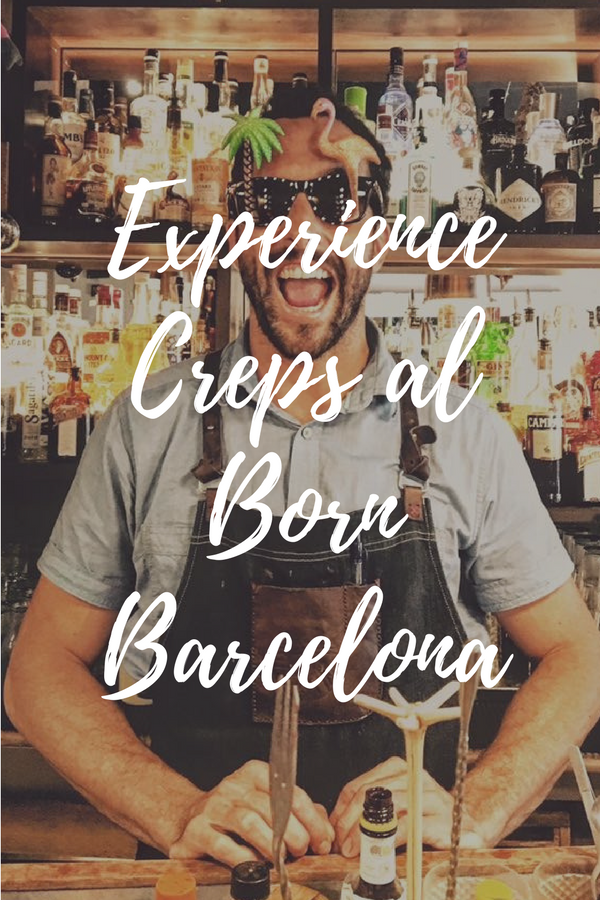Enjoy the best cocktails Barcelona has to offer at Creps al Born Barcelona!